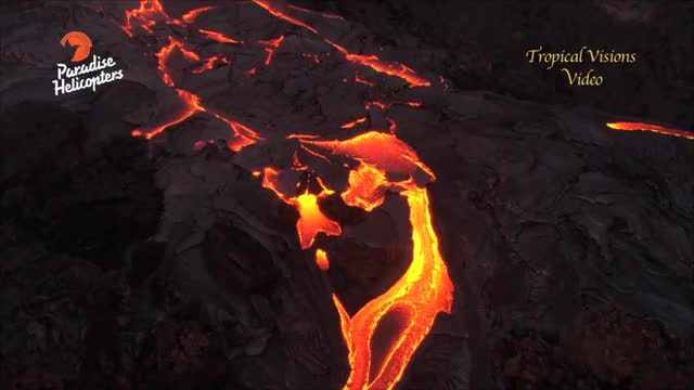 Watch and share Spectacular Lava Display Continues (May 29, 2016) GIFs on Gfycat