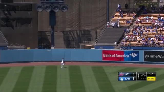 Watch and share Pederson Makes A Fearless Play GIFs on Gfycat
