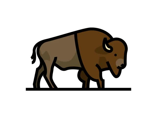 Watch and share Bison GIFs on Gfycat