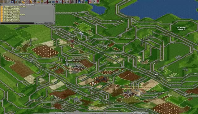 game, openttd, train, openttd Prozone game 19 GIFs