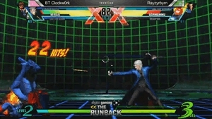 fightergifs, mvc3, Razyrbyrns sick Dorm combo with Strange assist at The Runback 1.6 against Clockw0rk GIFs