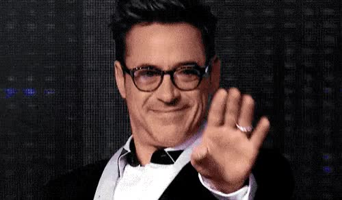Watch this hi GIF by GIF Queen (@ioanna) on Gfycat. Discover more bye, cu, downey, goodbye, hello, hey, hi, junior, robert, robert downey jr, see, smile, welcome, you GIFs on Gfycat