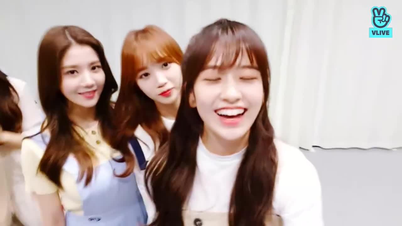 chaewon, izone, yujin, chaewon blep GIFs