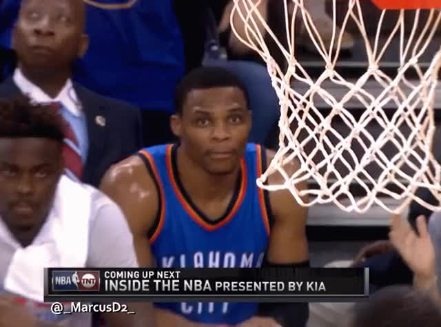 Watch and share Russell Westbrook GIFs by MarcusD on Gfycat