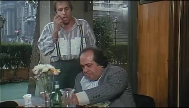 Watch Bingo Bongo - Scena Ristorante - Adriano Celentano (1982) GIF on Gfycat. Discover more related GIFs on Gfycat