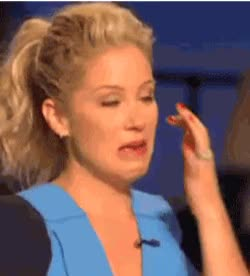 Watch and share Christina Applegate Crying GIFs by beppie on Gfycat