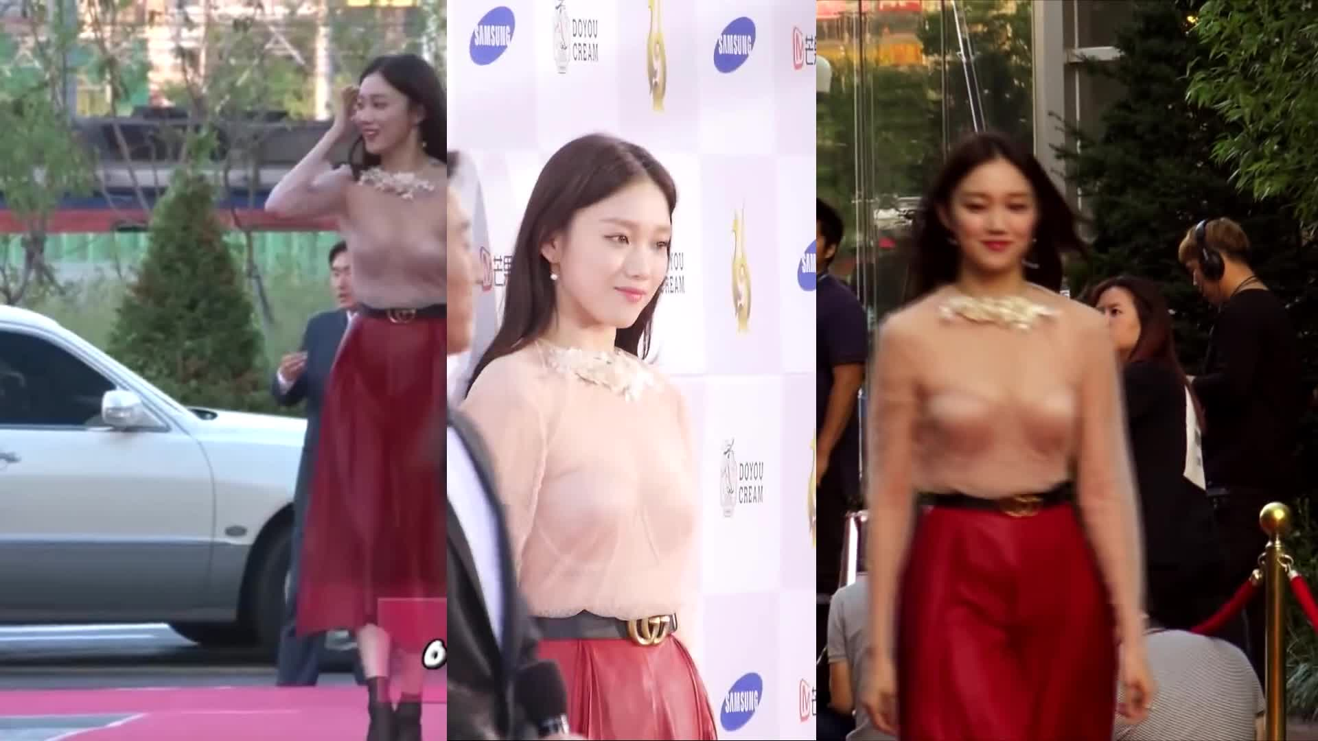 Lee Sung-kyung on the Red Carpet