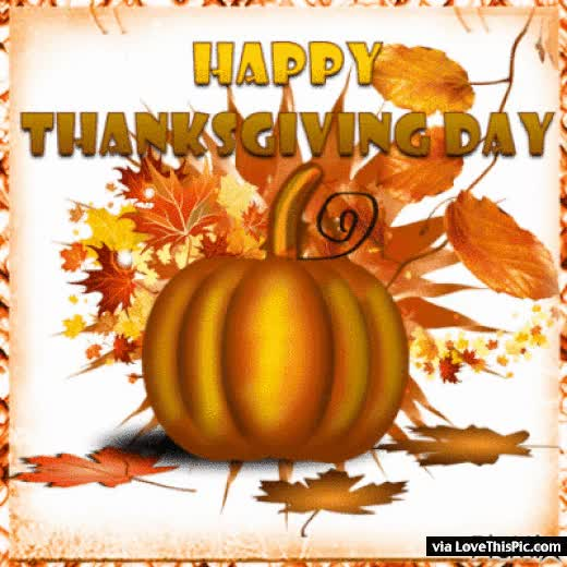 Watch and share Happy Thanksgiving Pumpkin Gif GIFs on Gfycat