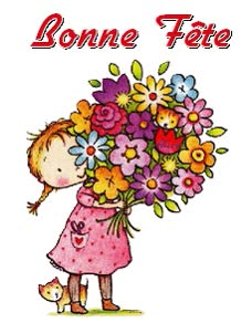 Watch and share Bonne Fete animated stickers on Gfycat