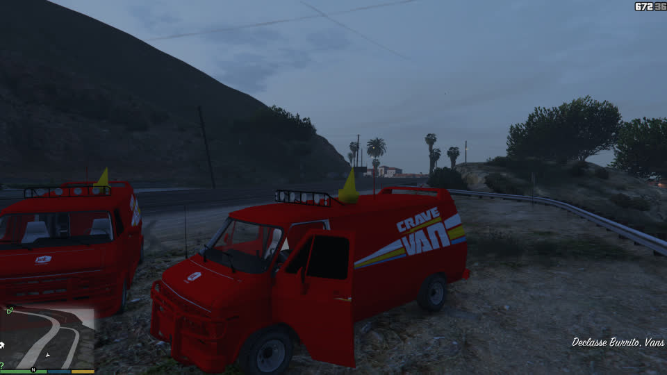 #GTA5, #GTAV, #cravevan, #gaming, #gta5mod, #gtavmod, #jackinthebox, #mods, GTA5 Crave Van Jack in the Box v3 GIFs