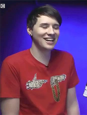 Watch and share Dan Howell Gif GIFs and Amazing Phil GIFs on Gfycat