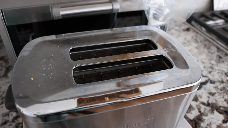 perfectfit, Bread falling in a toaster. GIFs