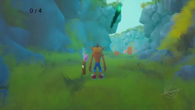 Watch and share Crash Bandicoot Recreated In Dreams! MadeInDreams DreamsPS4 GIFs on Gfycat
