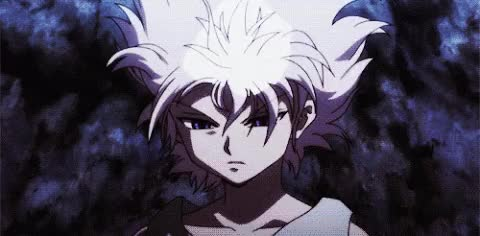 Watch Killua GIF by Itsygo (@itsygo) on Gfycat. Discover more HxH, Killua, anime, animegif, animegifs, badass, lightning, sparks GIFs on Gfycat