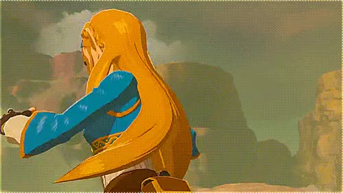 Watch and share Zelda Breath animated stickers on Gfycat