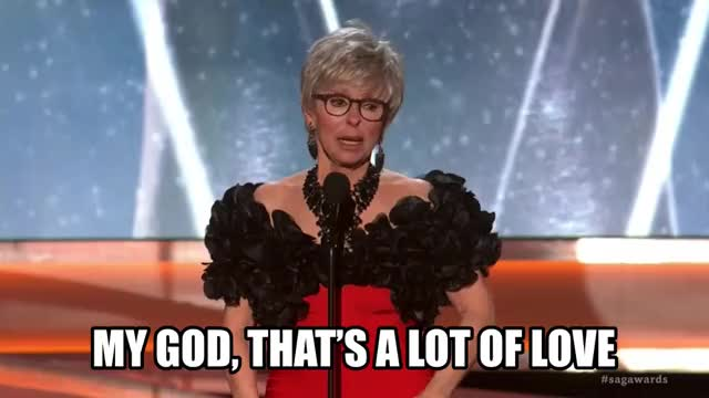 Watch and share Rita Moreno GIFs and Sag Awards GIFs by Reactions on Gfycat