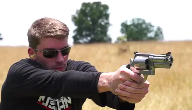 Watch Smith & Wesson .500 MAGNUM! GIF on Gfycat. Discover more related GIFs on Gfycat