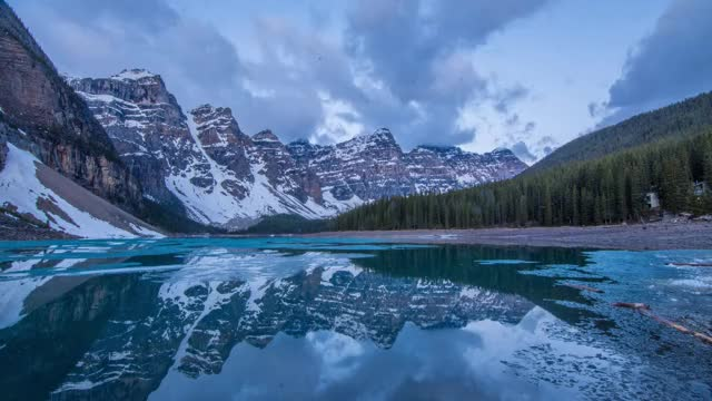 Watch Moraine Lake Alpenglow GIF by aryeh95 on Gfycat. Discover more Canada, canada, truenorthpictures GIFs on Gfycat
