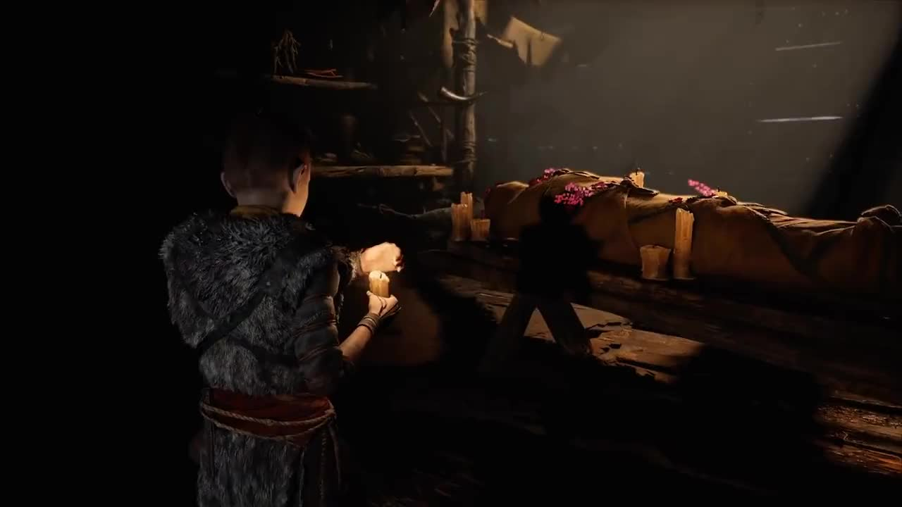 Action, Adventure, All Tags, E3, GamePlay, Kratos, Norse, atreus, combat, creature, discovery, father, incredible, must-see, mythology, son, story, God of War – Story Trailer | PS4 GIFs