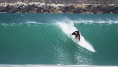 Watch Tyler Wright. Mexico.via rip curl GIF on Gfycat. Discover more 2014, MX, Mexico, Rip Curl, SURPHILE, Tyler Wright, barrel, beach break, gif, off shore, overhead, pull in, surf, surfer, surfing, tidy GIFs on Gfycat