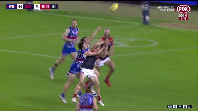 Watch and share AFL 2018 Round 11 - Western Bulldogs V Melbourne 720p X264-VB (2nd Half).mp4 - VLC Media Player 03-Jun-18 9 40 20 AM GIFs on Gfycat