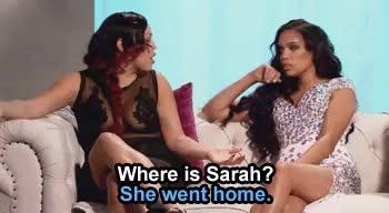 Poor Judi, she misses Sarah! lmfaooooooo