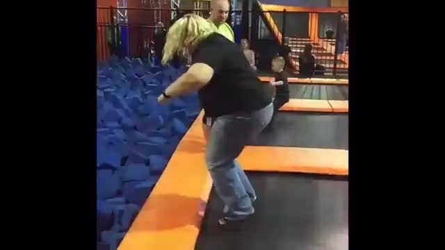 holdmyfries, HMF while I bounce into the foam pit GIFs
