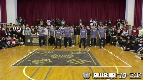 Watch and share POPPING Audition A16 台北大學   20141206 College High Vol.10 最終戰 (reddit) GIFs on Gfycat