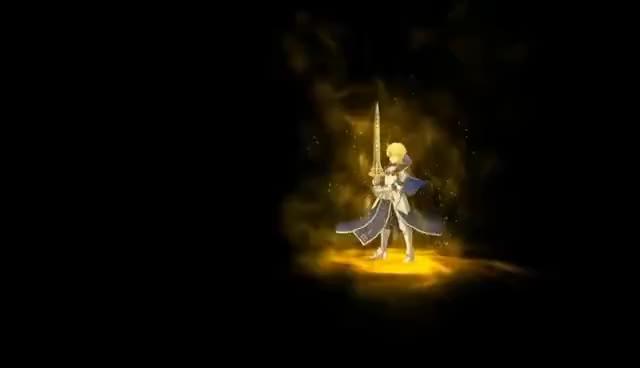 Watch and share 【Fate/Grand Order】Arthur Pendragon (Prototype) Noble Phantasm【FGO】アーサー・ペンドラゴン〔プロトタイプ〕・宝� GIFs on Gfycat