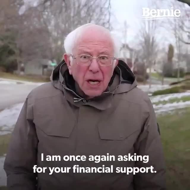Watch and share Bernie Sanders GIFs by MikeyMo on Gfycat