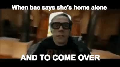 Watch and share When Bae Says She's Home Alone And To Come Over GIFs on Gfycat