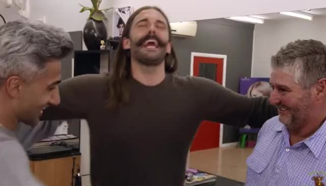 Watch this queer eye GIF by ioanna on Gfycat. Discover more australia, bff, eye, gang, group, hug, lol, love, netflix, queer, reality television, reality tv, television, together, yass GIFs on Gfycat