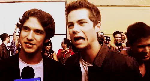 Watch Dylan Tyler gifs tyler posey and dylan obrien GIF on Gfycat. Discover more dylan o'brien, dylan obrien, mtv, stiles, teen wolf, teenwolf, tw, tyler posey, tylerposey GIFs on Gfycat
