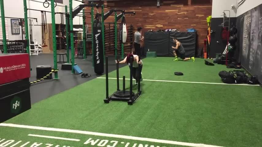 Megturney, megturney, Meg exercising in the latest Buff Buddies (reddit) GIFs