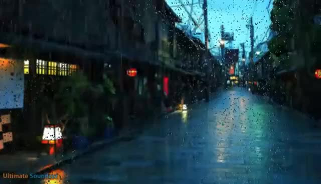 Watch and share 🎧 EPIC Tokyo City Rain Sounds    Ambient Noise For Studying And Sleeping, @Ultizzz Day#19 GIFs on Gfycat