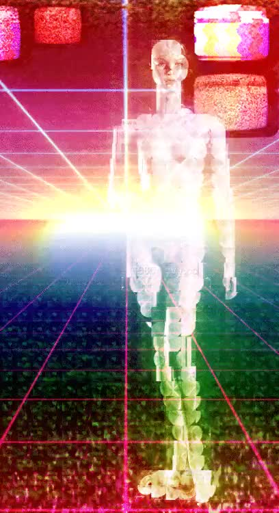 Watch and share Glitch Art GIFs and Cyberpunk GIFs on Gfycat