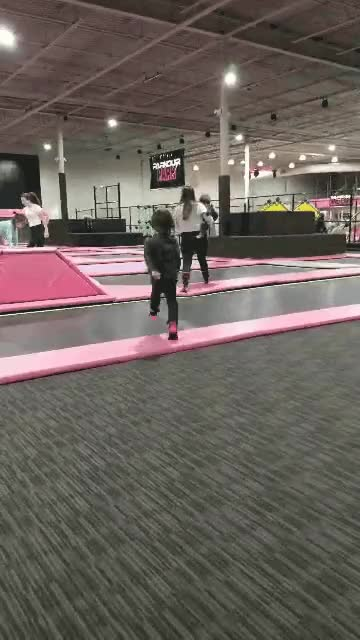 Watch and share My Son Eating It At A Trampoline Park GIFs on Gfycat