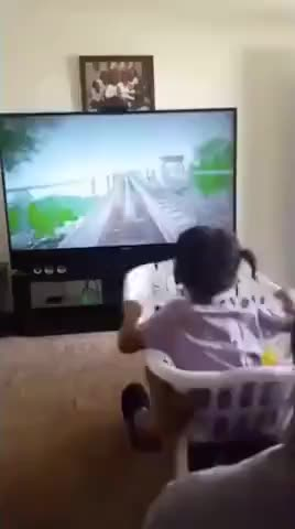 Dads roller coaster - gif