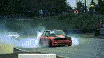 Watch and share Bmw E30 Burnout GIFs on Gfycat