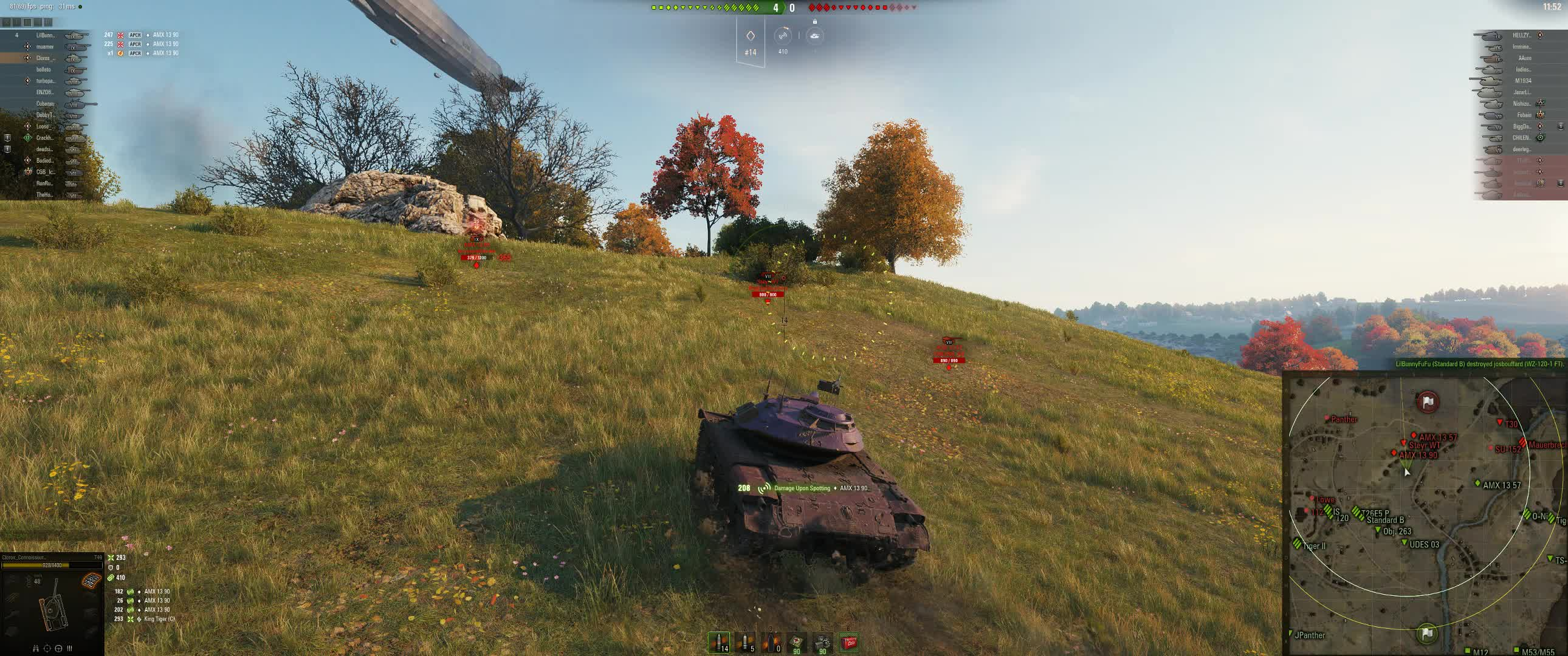 derpcart, t49, world of tanks, Petite French Thot absolutely deleted by thicc American chode GIFs