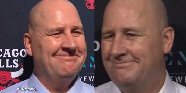 Watch and share Jim Boylen Smirk Shake Combo GIFs by MarcusD on Gfycat