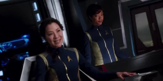 Watch and share Michelle Yeoh GIFs and Star Trek GIFs on Gfycat