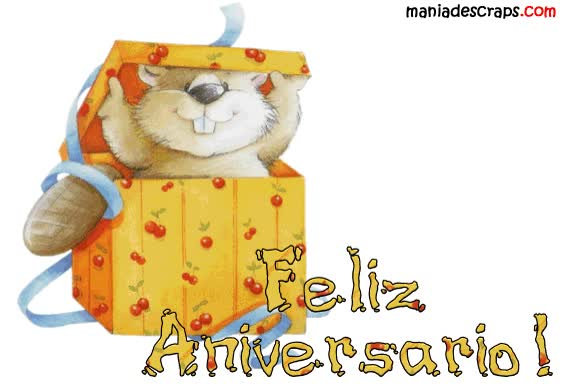 Watch and share Aniversario animated stickers on Gfycat
