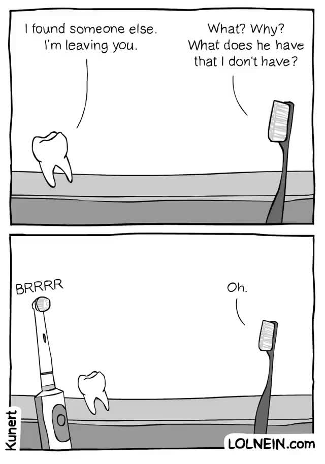 Watch and share Toothbrush Tragedy GIFs on Gfycat
