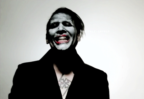 gif, marilyn manson, the pale emperor, third day of a seven day binge, The Pale Emperor GIFs