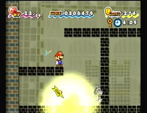 Watch and share Paper Mario GIFs on Gfycat