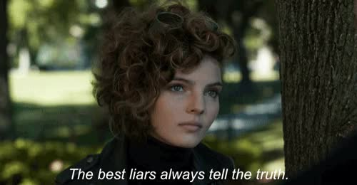 Watch and share Camren Bicondova GIFs and Liar GIFs on Gfycat