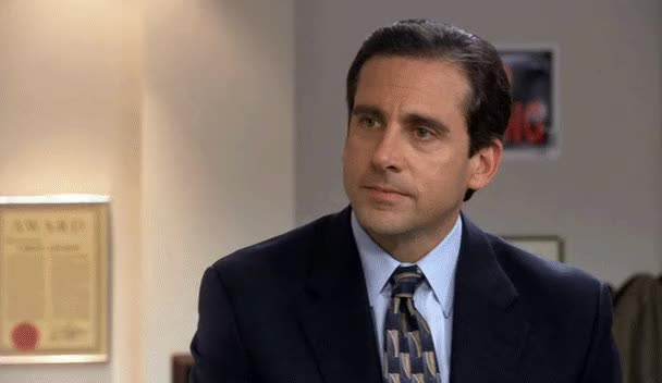 Watch and share Michael Scott GIFs and Steve Carell GIFs by jaxspider on Gfycat