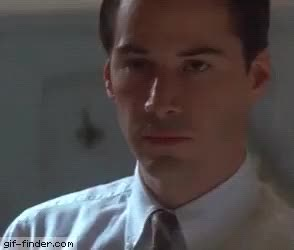 Watch Keanu Reeves Smile Serious GIF on Gfycat. Discover more related GIFs on Gfycat