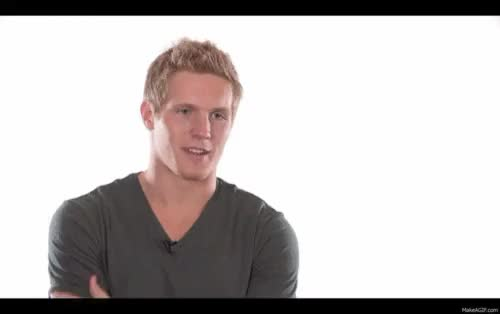 Watch and share Gabriel Landeskog GIFs and High Expectations GIFs on Gfycat